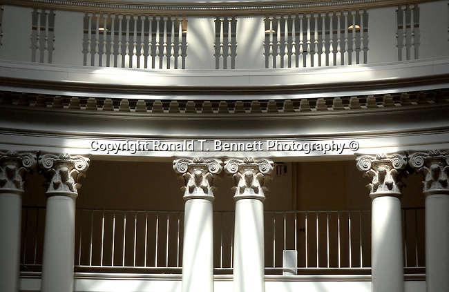 University Virginia balcony pillars and shadows Commonwealth of Virginia, Fine Art Photography by Ron Bennett, Fine Art, Fine Art photography, Art Photography, Copyright RonBennettPhotography.com ©