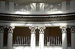 University Virginia balcony pillars and shadows Commonwealth of Virginia, Fine Art Photography by Ron Bennett, Fine Art, Fine Art photography, Art Photography, Copyright RonBennettPhotography.com ©
