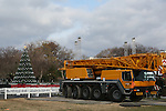 The White House Christmas Tree on the Mall, December 7, 2013 in Washington, D.C..