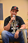 MIRAMAR, FL - MAY 09: Daddy Yankee real name Ramón Luis Ayala Rodríguez visits Mega 94.9 radio station on May 9, 2014 in MiRAMAR, Florida. (Photo by Johnny Louis/jlnphotography.com)