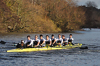 015 .MBC-Thorpe .IM2.8+ .Molesey BC . Wallingford Head of the River. Sunday 27 November 2011. 4250 metres upstream on the Thames from Moulsford railway bridge to Oxford Universitiy's Fleming Boathouse in Wallingford. Event run by Wallingford Rowing Club..