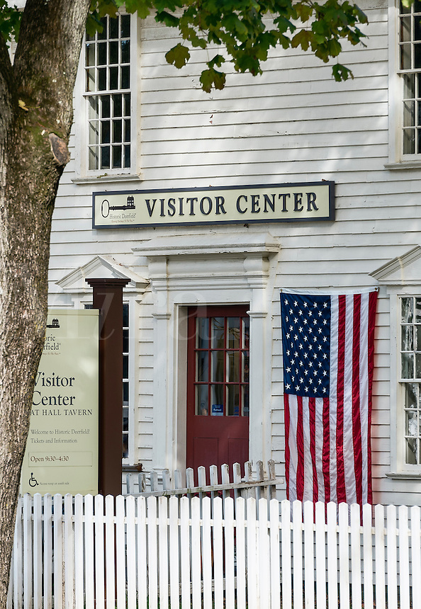 Historic Deerfield visitors center, Deerfield, Massachusetts, USA