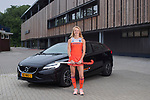AMSTELVEEN - Photoshoot VOLVO met hockey international  IREEN VAN DEN ASSEM .  COPYRIGHT KOEN SUYK