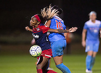 Boyds, MD - September 30, 2016: The Washington Spirit defeated the Chicago Red Stars 2-1 in overtime during the National Women's Soccer League (NWSL) semifinal at the Maryland SoccerPlex.