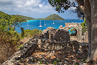 View of Leinster Bay from the Ruins at Windy Hill<br />