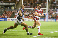 Picture by David Neilson/SWpix.com/PhotosportNZ - 10/02/2018 - Rugby League - Betfred Super League - Wigan Warriors v Hull FC  - WIN Stadium, Wollongong, Australia - Wigan's George Williams.