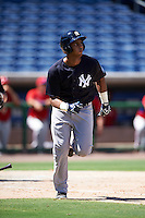 New York Yankees third baseman Dermis Garcia (60) during an Instructional League game against the Philadelphia Phillies on September 27, 2016 at Bright House Field in Clearwater, Florida.  (Mike Janes/Four Seam Images)