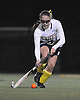 Massapequa No. 5 Marisa McLeod moves the ball downfield during the Nassau County varsity field hockey Class A final against Baldwin at Adelphi University on Saturday, October 31, 2015. She scored a goal in the second half to extend Massapequa's lead to 2-0. The Chiefs held on to win 2-1 to claim the county championship.<br /> <br /> James Escher<br /> <br /> James Escher