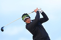 Thriston Lawrence (South Africa) on the 14th tee during Round 3 of The Irish Amateur Open Championship in The Royal Dublin Golf Club on Saturday 10th May 2014.<br /> Picture:  Thos Caffrey / www.golffile.ie