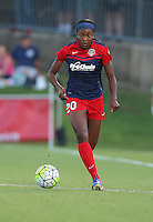 Boyds, MD - Saturday Sept. 03, 2016: Cheyna Williams during a regular season National Women's Soccer League (NWSL) match between the Washington Spirit and the Western New York Flash at Maureen Hendricks Field, Maryland SoccerPlex.