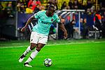 05.11.2019, Signal Iduna Park, Dortmund , GER, Champions League, Gruppenphase, Borussia Dortmund vs Inter Mailand, UEFA REGULATIONS PROHIBIT ANY USE OF PHOTOGRAPHS AS IMAGE SEQUENCES AND/OR QUASI-VIDEO<br /> <br /> im Bild | picture shows:<br /> Einzelaktion Romelu Lukaku (Inter #9), <br /> <br /> Foto © nordphoto / Rauch