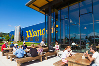 Newly remodeled and reopened in 2018, Tillamook Creamery, in Tilllamook, Oregon