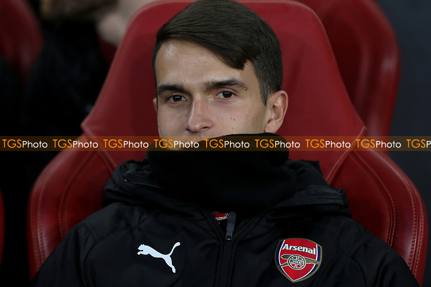 Denis Suarez of Arsenal was named as a substitute during Arsenal vs Napoli, UEFA Europa League Football at the Emirates Stadium on 11th April 2019