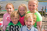 3520-3522.---------.Regatta.-------.Having summer fun at the Brandon Regatta last Sunday were Dingle kids A?ine&Mike Devine,E?abha Kavanagh,Donnagh and Nessa Toomey.