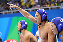 Kenya Yasuda (JPN), <br /> AUGUST 14, 2016- Water Polo : <br /> Men's Preliminary Round group A<br /> match between Serbia - Japan <br /> at Olympic Aquatics Stadium<br /> during the Rio 2016 Olympic Games in Rio de Janeiro, Brazil. <br /> (Photo by Yohei Osada/AFLO SPORT)