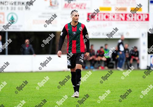 2014-10-26 / Voetbal / seizoen 2014-2015 / Groen Rood Katelijne - KFC Lille / Noureddine Elayadi - Nour Eddine El Ayadi<br /><br />Foto: mpics.be