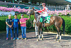 Hazel Eyed Girl winning at Delaware Park on 8/15/15