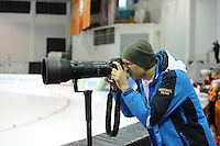 SPEED SKATING: SALT LAKE CITY: 21-11-2015, Utah Olympic Oval, ISU World Cup, Pavel Kulizhnikov (RUS), ©foto Martin de Jong