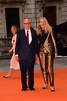 www.acepixs.com<br /> <br /> June 7 2017, London<br /> <br /> Rupert Murdoch (L) and Jerry Hall arriving at the Royal Academy Of Arts Summer Exhibition preview party at the Royal Academy of Arts on June 7, 2017 in London, England.<br /> <br /> By Line: Famous/ACE Pictures<br /> <br /> <br /> ACE Pictures Inc<br /> Tel: 6467670430<br /> Email: info@acepixs.com<br /> www.acepixs.com