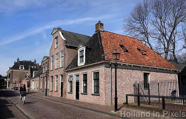 Nederland Assen - april 2019.  De Kloosterstraat in Assen. Historisch centrum. Foto Berlinda van Dam / Hollandse Hoogte