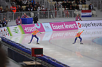 SPEEDSKATING: SOCHI: Adler Arena, 24-03-2013, Essent ISU World Championship Single Distances, Day 4, 500m Ladies, Margot Boer (NED), Thijsje Oenema (NED), © Martin de Jong