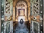 Interior, Dante's tomb, Ravenna, Italy