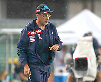 Maurizio Sarri  during the  italian serie A soccer match,between Hellas Verona and SSC Napoli  at  the Bentegodi    stadium in Verona  Italy , August 19, 2017