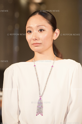 January 30, 2014 : Tokyo, Japan - Miki Ando appears at the Japan Premiere for RUSH by Ron Howard in the Yurakucho Marion, Tokyo, Japan. (Photo by Yumeto Yamazaki/NipponNews)