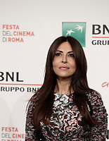 L'attrice italiana Sabrina Ferilli posa durante un photocall per la presentazione del film &quot;The place&quot; alla Festa del Cinema di Roma, 4 novembre 2017.<br /> Italian actress Sabrina Ferilli poses for a photocall to present the movie &quot;The place&quot; during the international Rome Film Festival at Rome's Auditorium, .<br /> UPDATE IMAGES PRESS/Isabella Bonotto