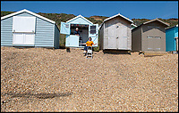 High and Dry - Council leave beach huts on a cliff edge.