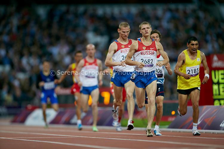 London Paralympic Games - Athletics 6.9.12