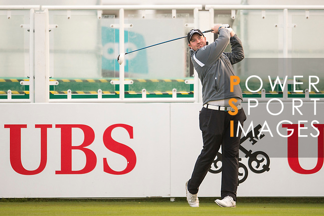 Duncan Stewart of Scotland tees off the first hole during the 58th UBS Hong Kong Open as part of the European Tour on 08 December 2016, at the Hong Kong Golf Club, Fanling, Hong Kong, China. Photo by Marcio Rodrigo Machado / Power Sport Images