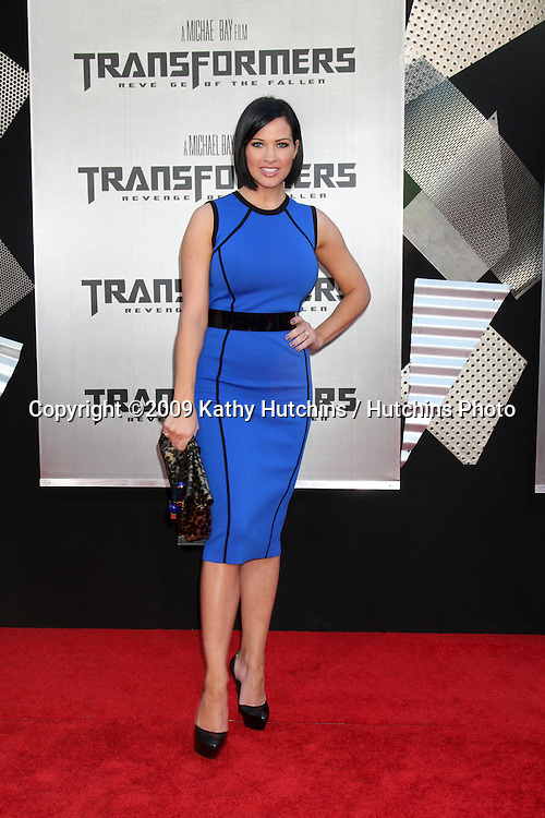 "Tiffany Fallon  arriving at the ""Transformers: Revenge of the Fallen"" Premiere at the Mann's Village Theater in Westwood, CA  on June 22, 2009.  .©2009 Kathy Hutchins / Hutchins Photo"