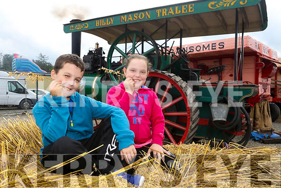 Enjoying the  6th annual Mid Kerry Vintage Rally in Castlemaine were Luke Crowhurst and Ella Crowhurst from Killorglin