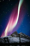 Aurora borealis, Brooks Range, Alaska, USA<br />
