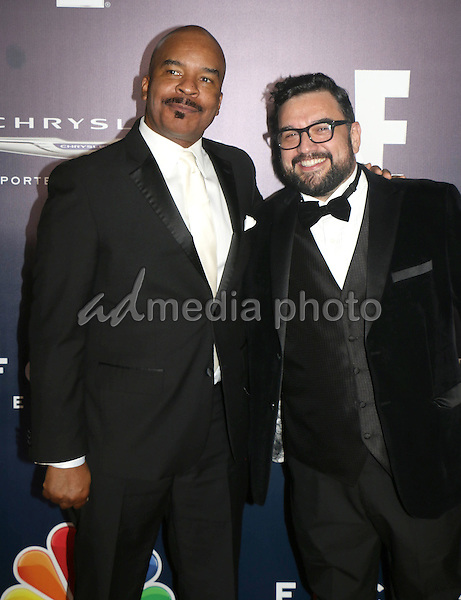 08 January 2017 - Beverly Hills, California - David Alan Grier, Horatio Sanz. NBCUniversal 74th Annual Golden Globe After Party with stars from NBC Entertainment, Universal Pictures, E! and Focus Features held at the Beverly Hilton Hotel. Photo Credit: Dylan Lujano/AdMedia