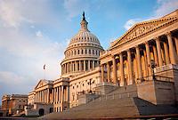 Capitol Building exterior, Washington DC. Washington DC District of Columbia United States.