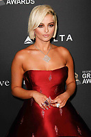 BEVERLY HILLS, CA- FEBRUARY 09: Bebe Rexha at the Clive Davis Pre-Grammy Gala and Salute to Industry Icons held at The Beverly Hilton on February 9, 2019 in Beverly Hills, California.      <br /> CAP/MPI/IS<br /> &copy;IS/MPI/Capital Pictures