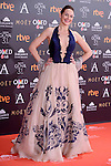 Cuca Escribano attends to the Red Carpet of the Goya Awards 2017 at Madrid Marriott Auditorium Hotel in Madrid, Spain. February 04, 2017. (ALTERPHOTOS/BorjaB.Hojas)