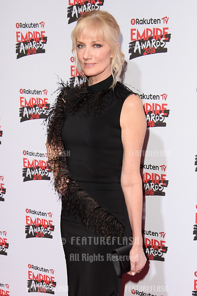 Joely Richardson arriving for the Empire Awards 2018 at the Roundhouse, Camden, London, UK. <br /> 18 March  2018<br /> Picture: Steve Vas/Featureflash/SilverHub 0208 004 5359 sales@silverhubmedia.com