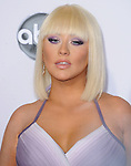 Christina Aguilera at The 2012 American Music  Awards held at Nokia Theatre L.A. Live in Los Angeles, California on November 18,2012                                                                   Copyright 2012  DVS / Hollywood Press Agency