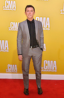 NASHVILLE, TN - NOVEMBER 1: Scotty McCreery on the Macy's Red Carpet at the 46th Annual CMA Awards at the Bridgestone Arena in Nashville, TN on Nov. 1, 2012. © mpi99/MediaPunch Inc. ***NO GERMANY***NO AUSTRIA*** .<br />