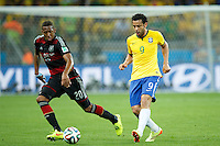 Fred of Brazil and Jerome Boateng of Germany