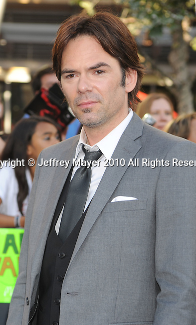 """LOS ANGELES, CA. - June 24: Billy Burke arrives to the premiere of """"The Twilight Saga: Eclipse"""" during the 2010 Los Angeles Film Festival at Nokia Theatre L.A. Live on June 24, 2010 in Los Angeles, California."""