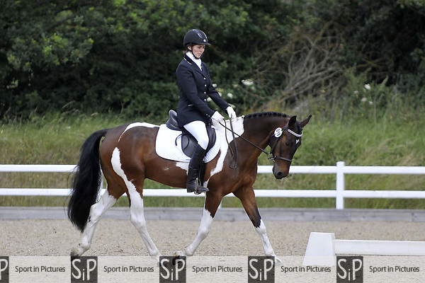 Class 3. Preliminary 1. Unaffiliated dressage. Brook Farm training centre. Essex. 24/06/2017. MANDATORY Credit Garry Bowden/Sportinpictures - NO UNAUTHORISED USE - 07837 394578