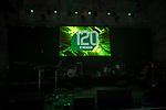 07.02.2019, Alte Werft, Bremen, GER, 1.FBL, 120 Jahre SV Werder Bremen - 120 Jahre Lauter - das Konzert<br /> <br /> im Bild<br /> Bühne, Feature, <br /> <br /> Der Fussballverein SV Werder Bremen feiert sein 120-jähriges Bestehen. In der Alten Werft Bremen findet anläßlich des Jubiläums ein Konzert für Fans statt. <br /> <br /> Foto © nordphoto / Ewert
