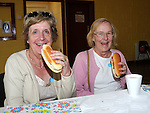 Maureen Lineen and Mary Lineen McNulty enjoying hotdogs at the Collon Summer Fete. Photo: www.pressphotos.ie