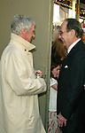 BURT BACHARACH and HAL DAVID.( At the Stage Door ).Attending the Opening Night Performance of THE.LOOK OF LOVE ... THE SONGS OF BURT BACHARACH .and HAL DAVID at the Brooks Atlinson Theater,.New York City..May 4, 2003.