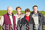 CLEAR VIEW: Pat Moriarty, Kathleen O'Regan Shepherd, Eileen Moynihan and Philip O'Callaghan, who are appealing for the council to cut down the trees, which are blocking the view of Killarney town from Madam's Height picnic area.   Copyright Kerry's Eye 2008