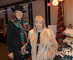Linda Langdon and Mimi Violin during the Junior League Poinsettia Luncheon at the Atlantis Casino Resort Spa in Reno, Thursday, Dec. 7, 2017.
